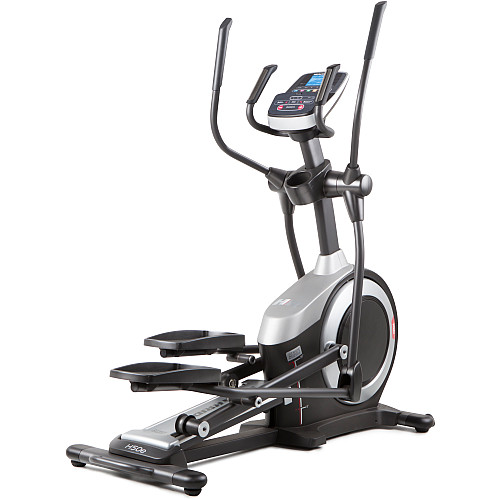 The HealthRider® H50E elliptical bike installation